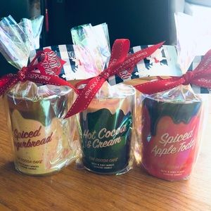 Bath and Body Works Holiday Cocoa Candles Set!
